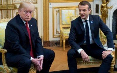 President Macron fra NATO-møte til generalstreik i Frankrike