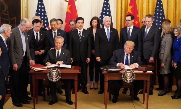 Kina og USA har signert handelsavtale
