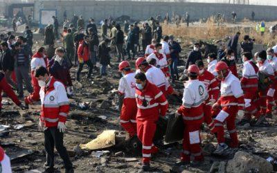 Iran innrømmer å ha skutt ned flyet