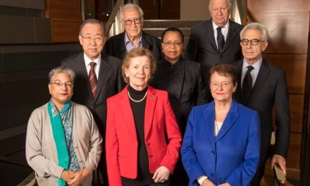 A message from Mary Robinson – Chair of The Elders