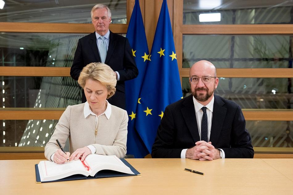 EU – endelig over og ut for UK