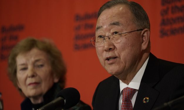 A message from Ban Ki-moon, Deputy Chair of The Elders  – A global wake-up call