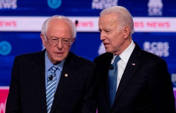 Tidligere visepresident Biden utrangerte senator Sanders i primærvalgene i Arizona, Florida og Illinois