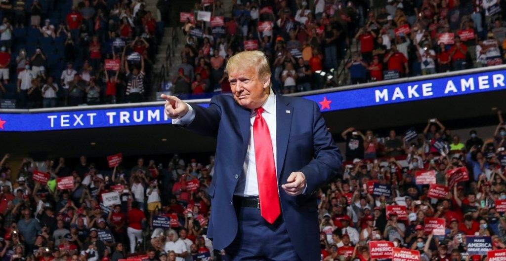 Trumps valgmøte i Tulsa forstyrret
