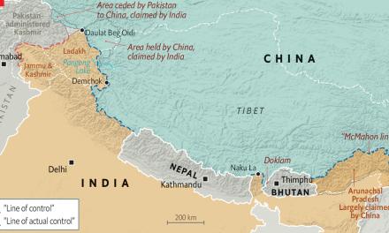 Konflikt på grensen mellom India og Kina