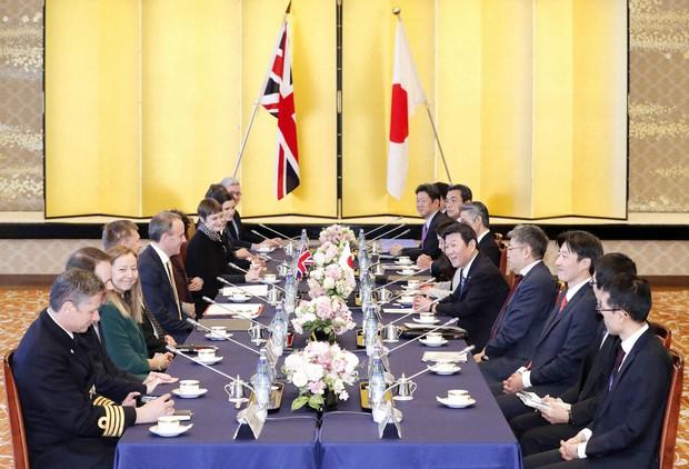 Forhandlinger om handelsavtale mellom Japan og Storbritannia