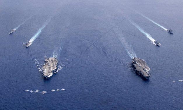 USA viser muskler i Sør-Kinahavet