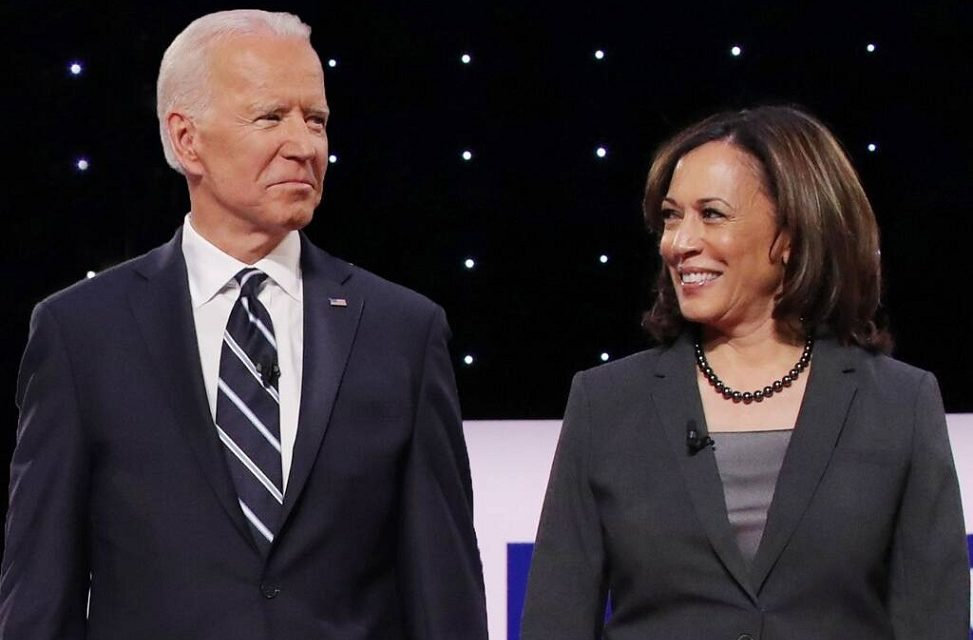Joe Biden valgte Kamala Harris som visepresidentkandidat