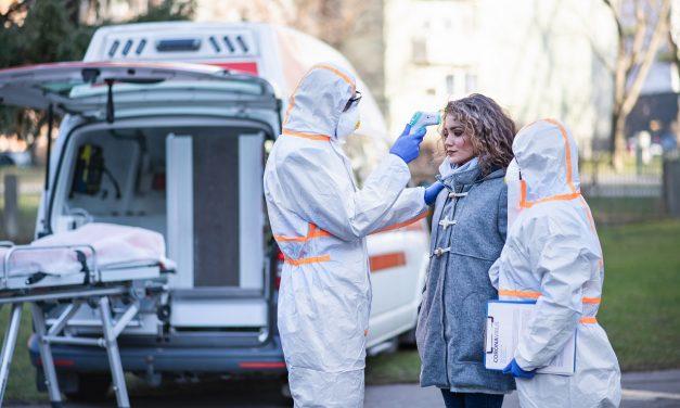 Hvor smittes folk av koronaviruset?