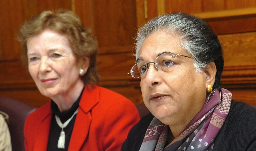 A message from Hina Jilani – member of The Elders