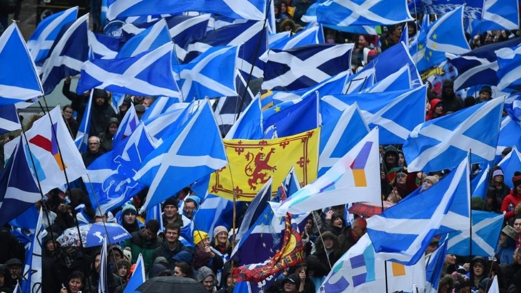 Skottene ønsker løsrivelse etter Brexit