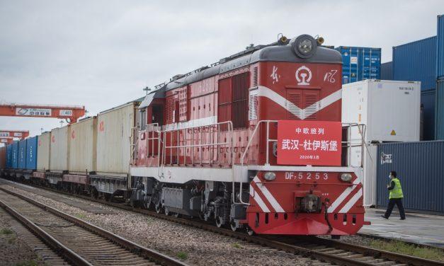 Belt and Road godstogtrafikk Kina-Europa rekordhøy i 2020
