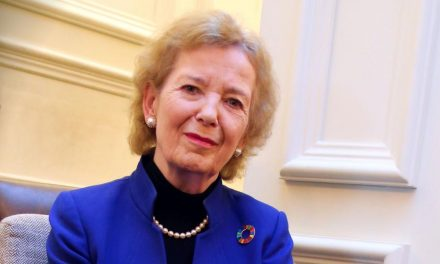 A message from Mary Robinson– Chair of The Elders