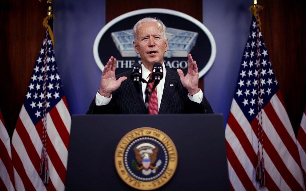 President Joe Bidens første angrep i Syria