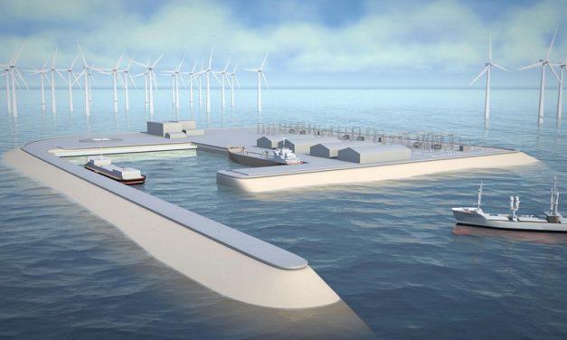 Danmark skal konstruere kunstig øy for vindkraft
