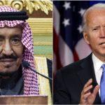 President Biden i samtale med Kong Salman av Saudi-Arabia