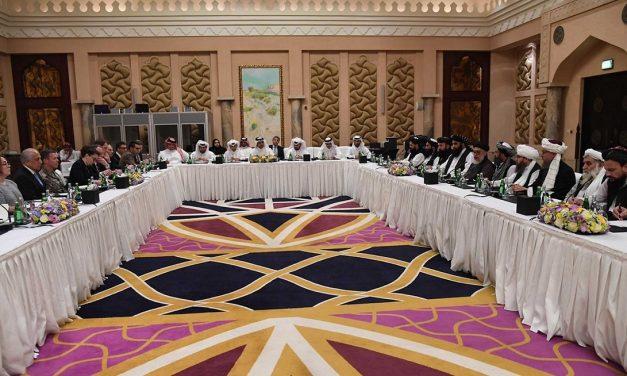 Mislykkede fredsforhandlinger om Afghanistan