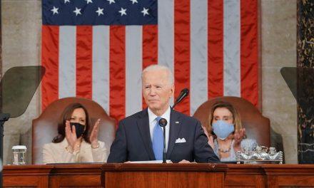 President Joe Bidens tale etter 100 dager i embetet