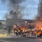 Demonstranter i Nord-Irland angrep politiet