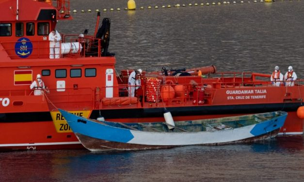 24 immigranter funnet døde 500 km sydvest for Kanariøyene