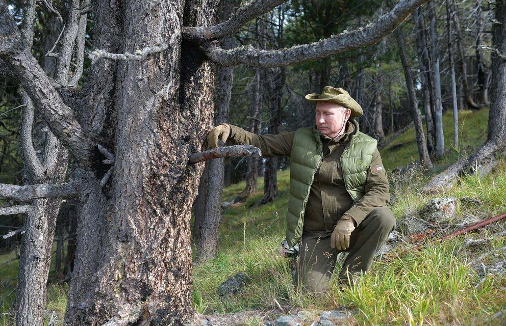 Vladimir Putin signerte loven som tillater dennes ledelse til 2036