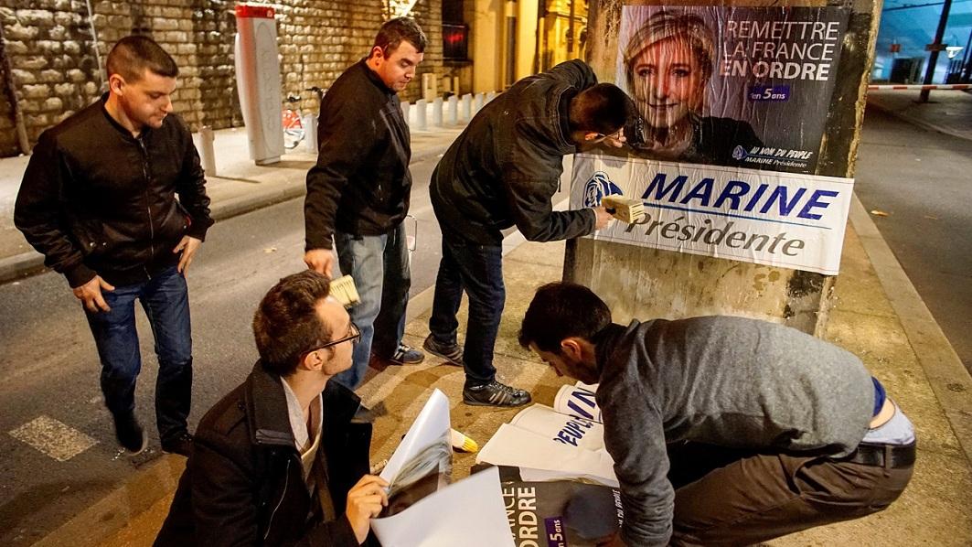 Marine Le Pen går av i Rassemblement National