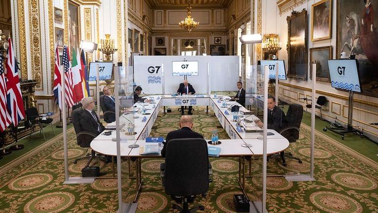 Kinas mening om G7-utenriksministermøtet