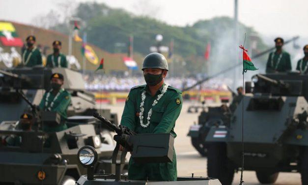 Kampen mot militærjuntaen i Myanmar
