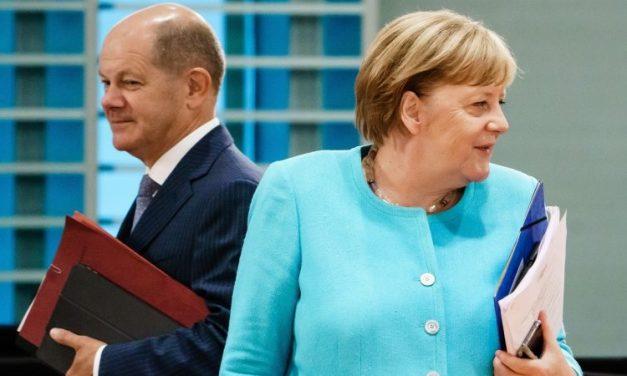Olaf Scholz favoritt etter Angela Merkel