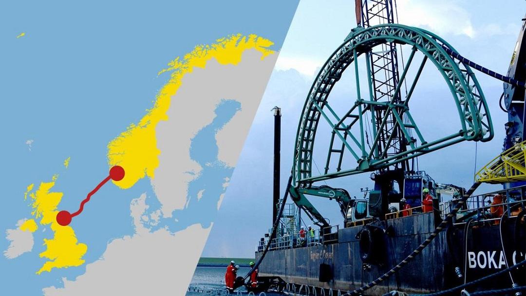Norge og Storbritannia vil dele grønn energi